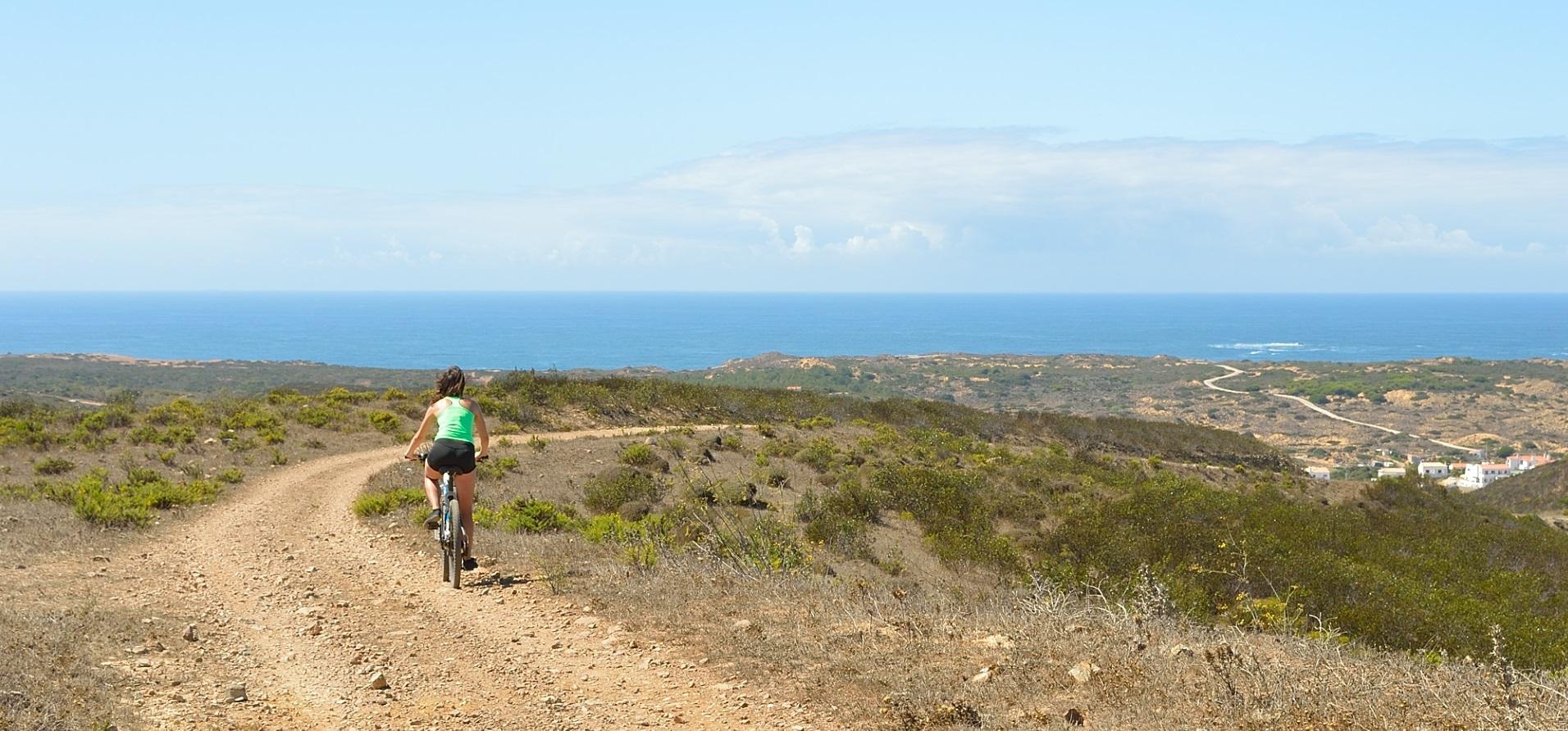 Biking trip in Algarve. Exploring Portugal on two wheels.