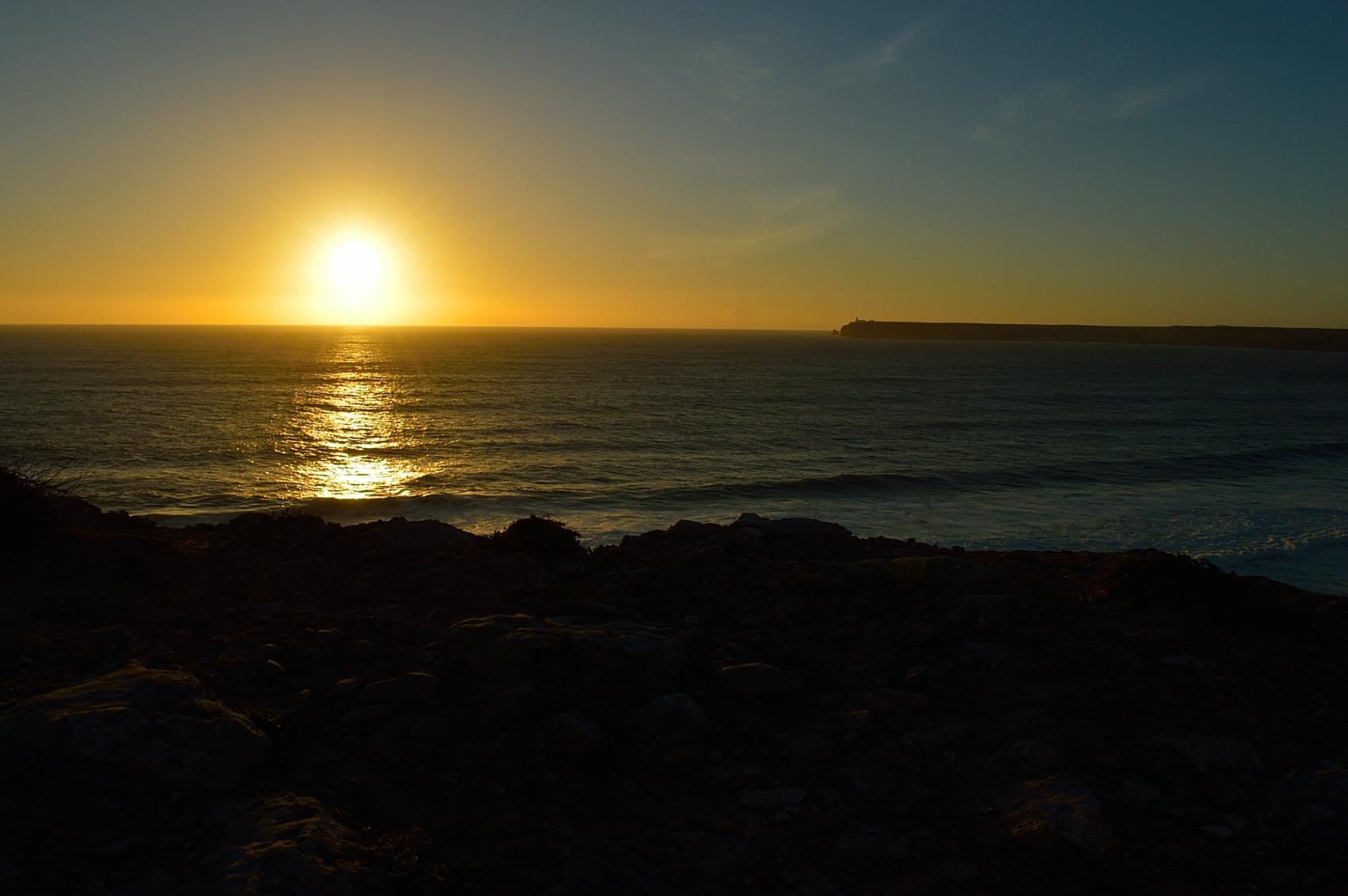 Sunset in Sagres