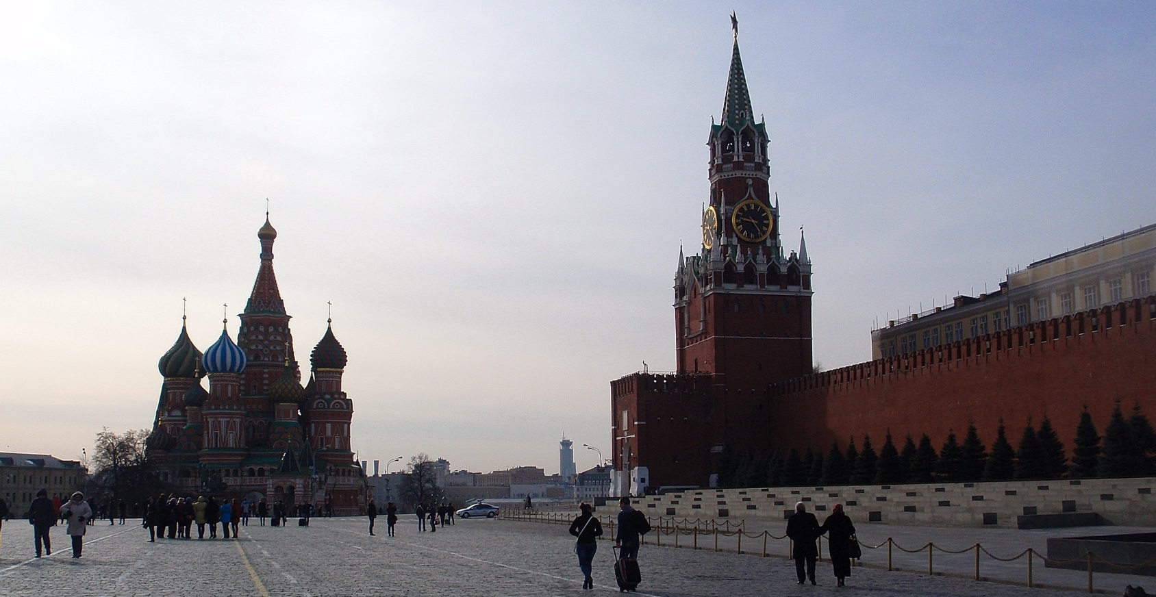 One day in Moscow - Red square