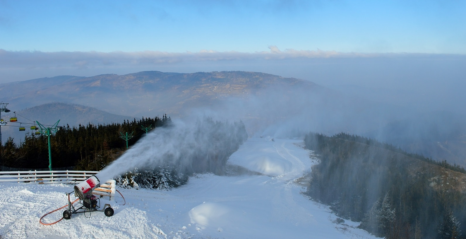 Looking for winter on Skrzyczne – beginning of the New Year up in the mountains
