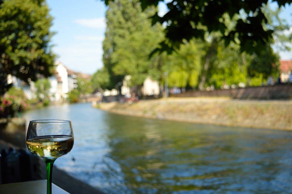 Jeden dzień w Strasburgu: Kieliszek Rieslinga w Małej Francji :)