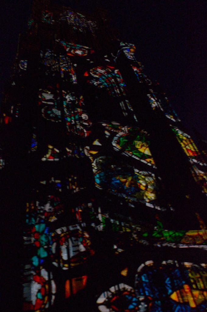 Jeden dzień w Strasburgu: Pokaz świateł na katedrze Notre Dame
