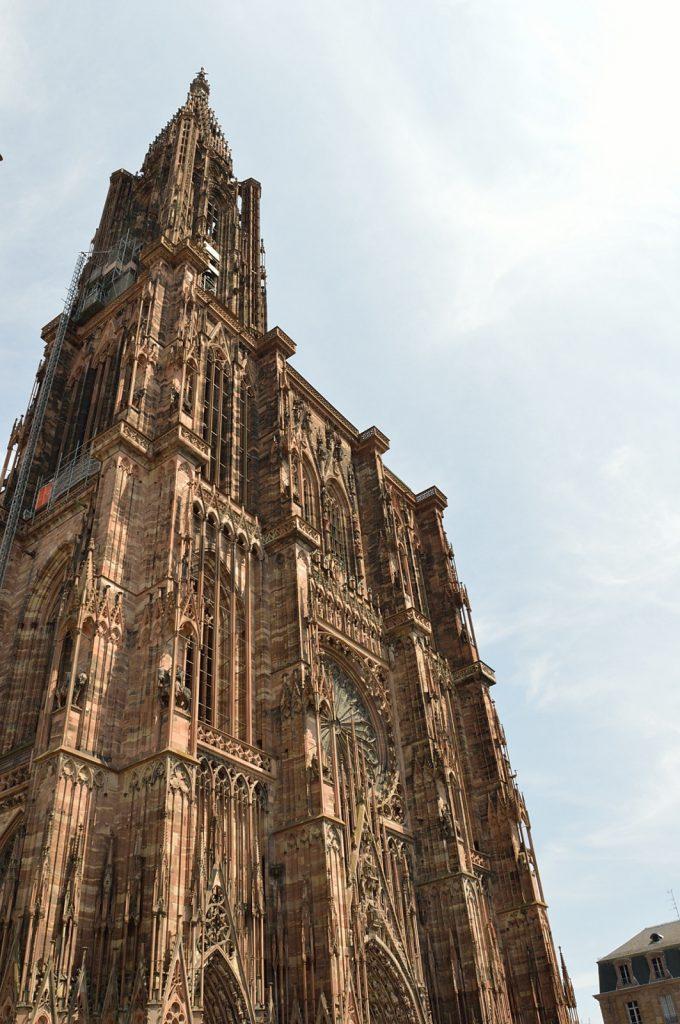 Jeden dzień w Strasburgu: Katedra Notre Dame