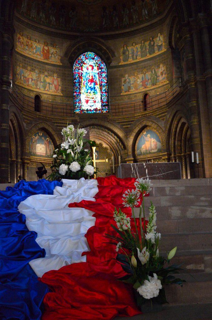 Jeden dzień w Strasburgu: Wnętrze katedry Notre Dame