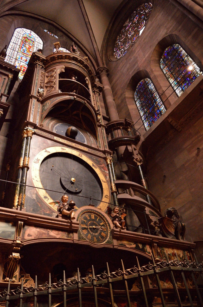 Astronomical clock in Strasbourg Catherdal