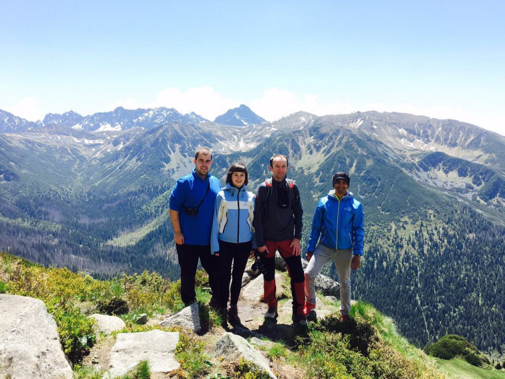 Two days in Tatras: brave hikers :)