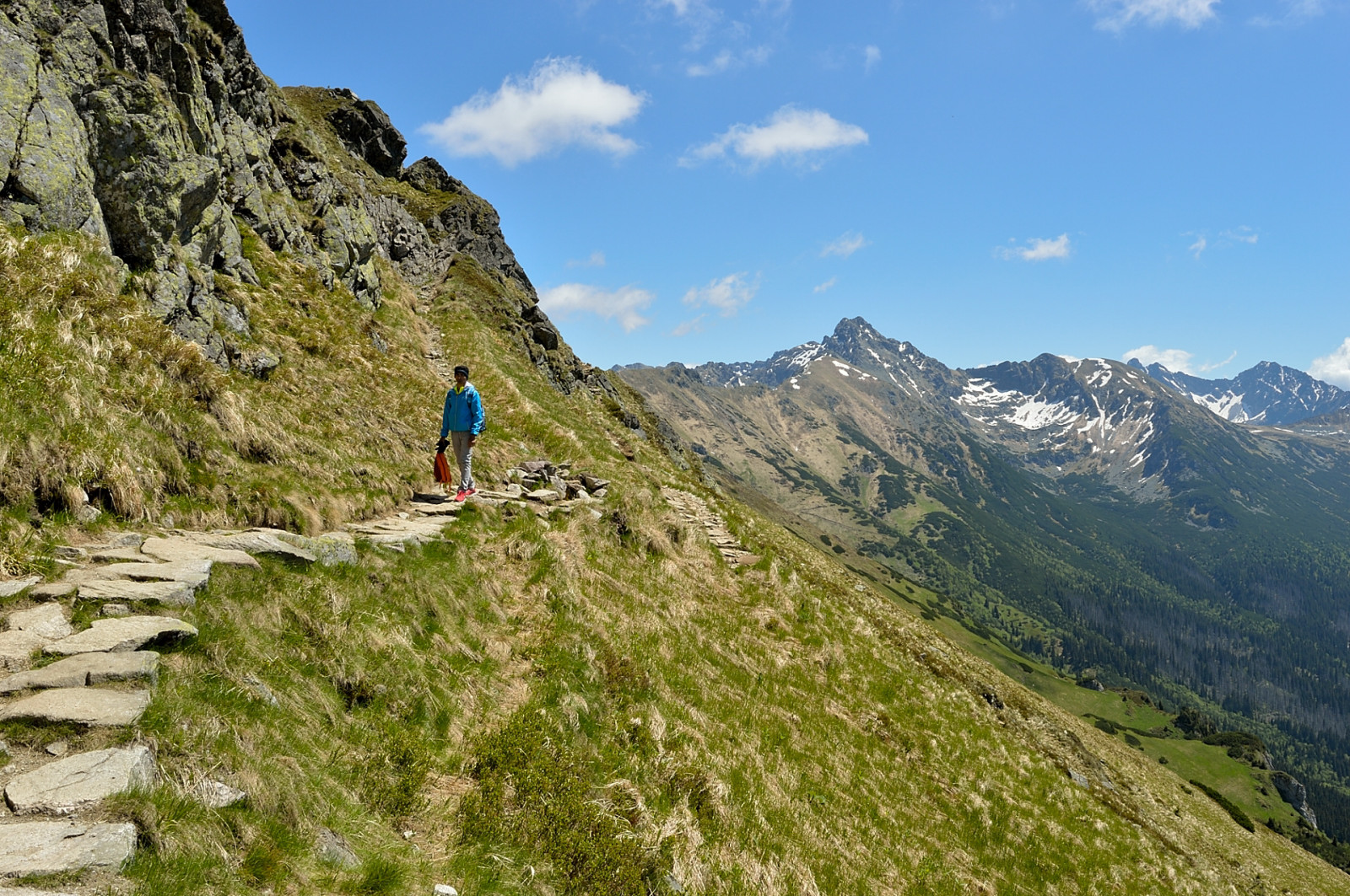 Two days in Tatras: the red trail