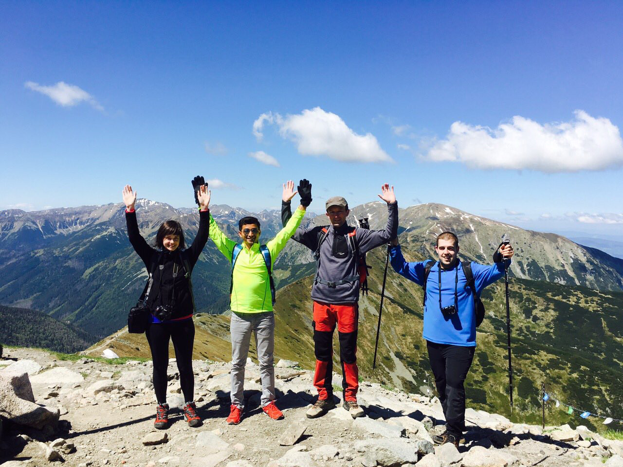 Two days in Tatras: after our last ascend!