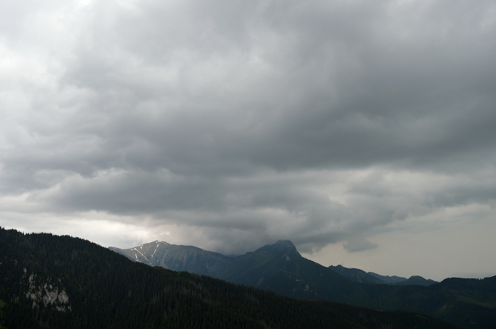 Two days in Tatras: Storm coming...