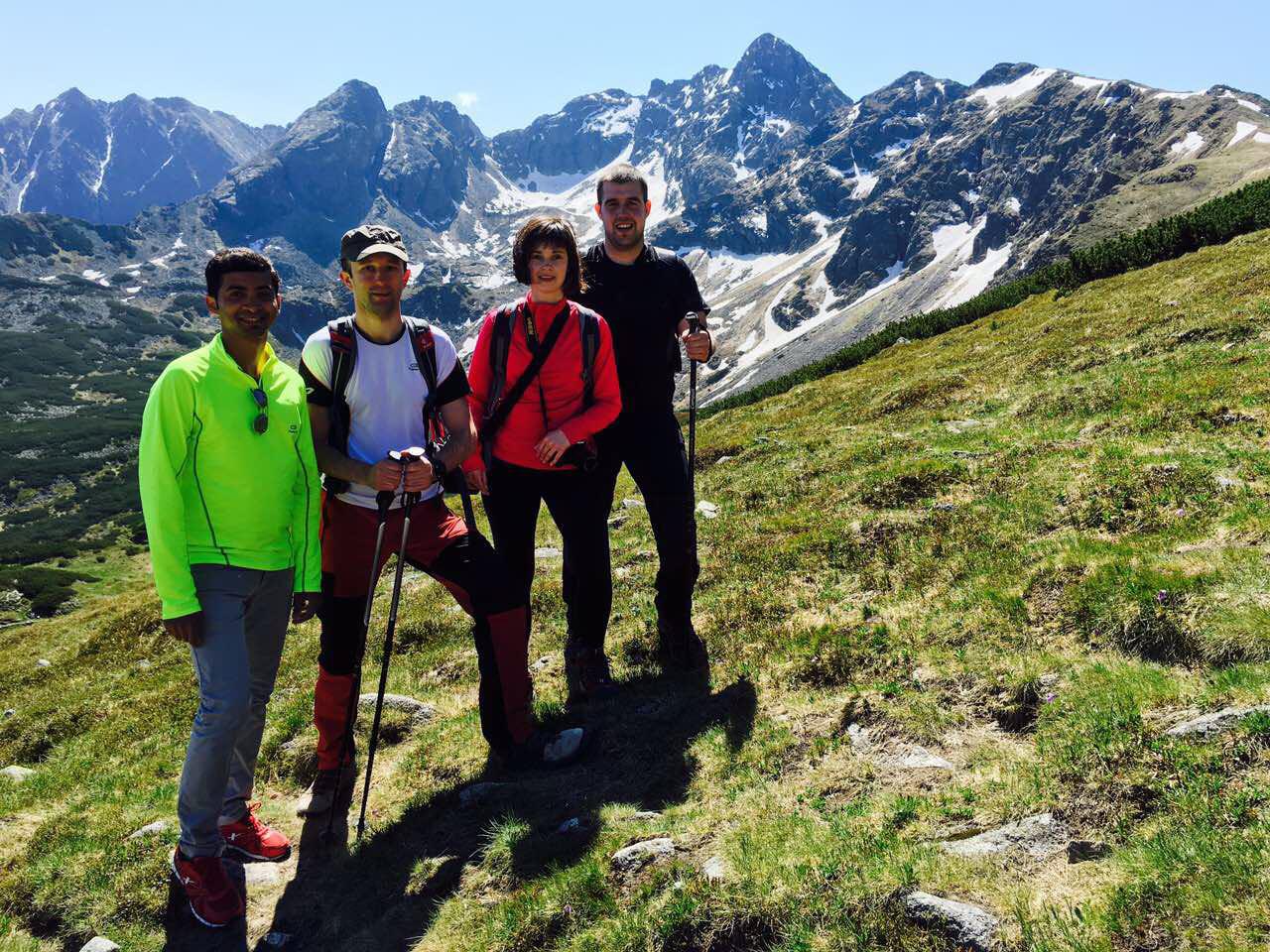 Two days in Tatras: on our way to Kasprowy Wierch