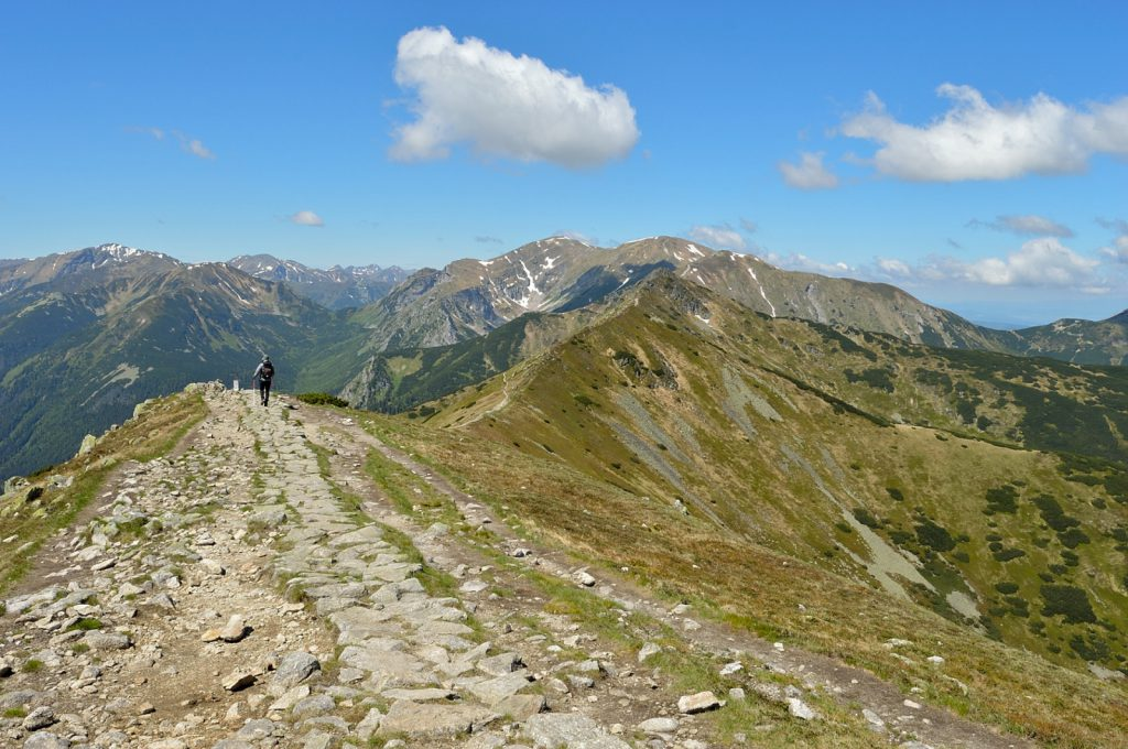 Two days in Tatras: Start of the red trail
