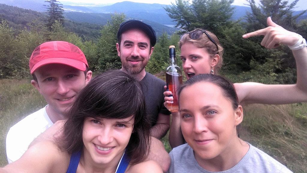 Scotch whisky on the trail to Czupel