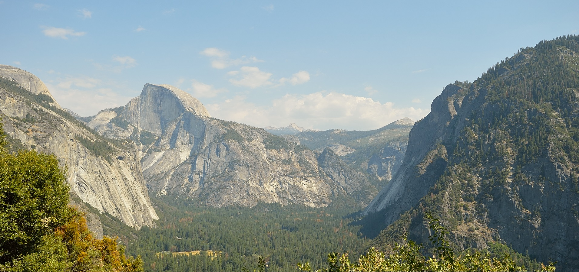 The trail to Yosemite Falls. Discover a place inhabited by the spirits of Native American witches.