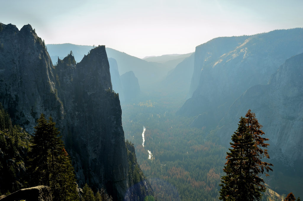 Four Mile Trail from Yosemite Valley to Glacier Point