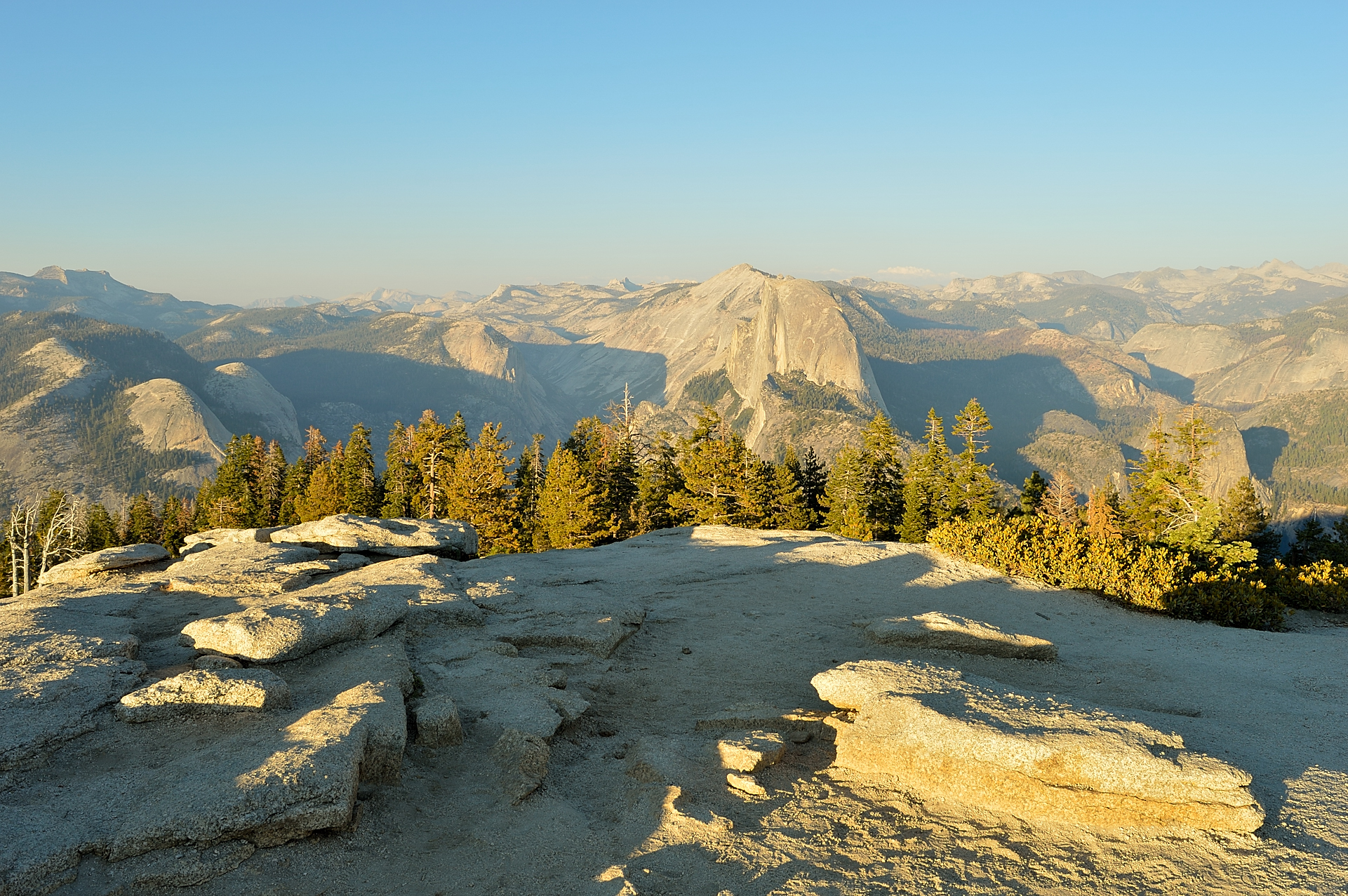 Wiew from Sentinel Dome