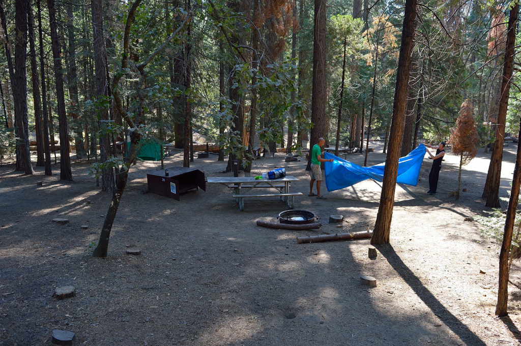 camping in the USA