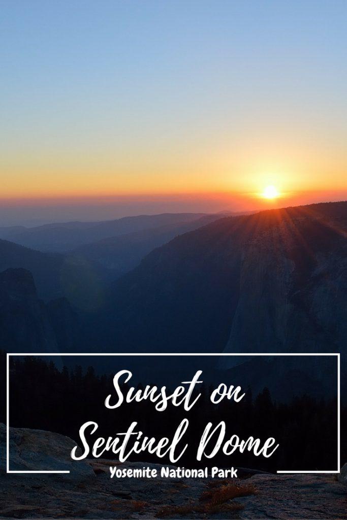 sentinel dome sunset