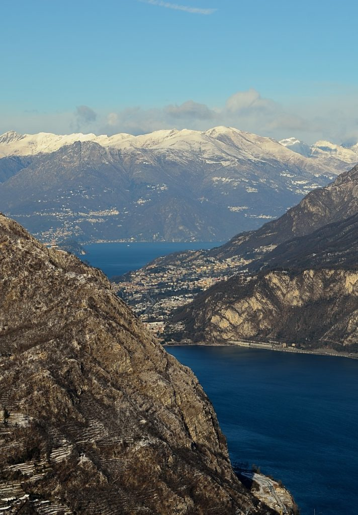 trail from lecco to monte barro