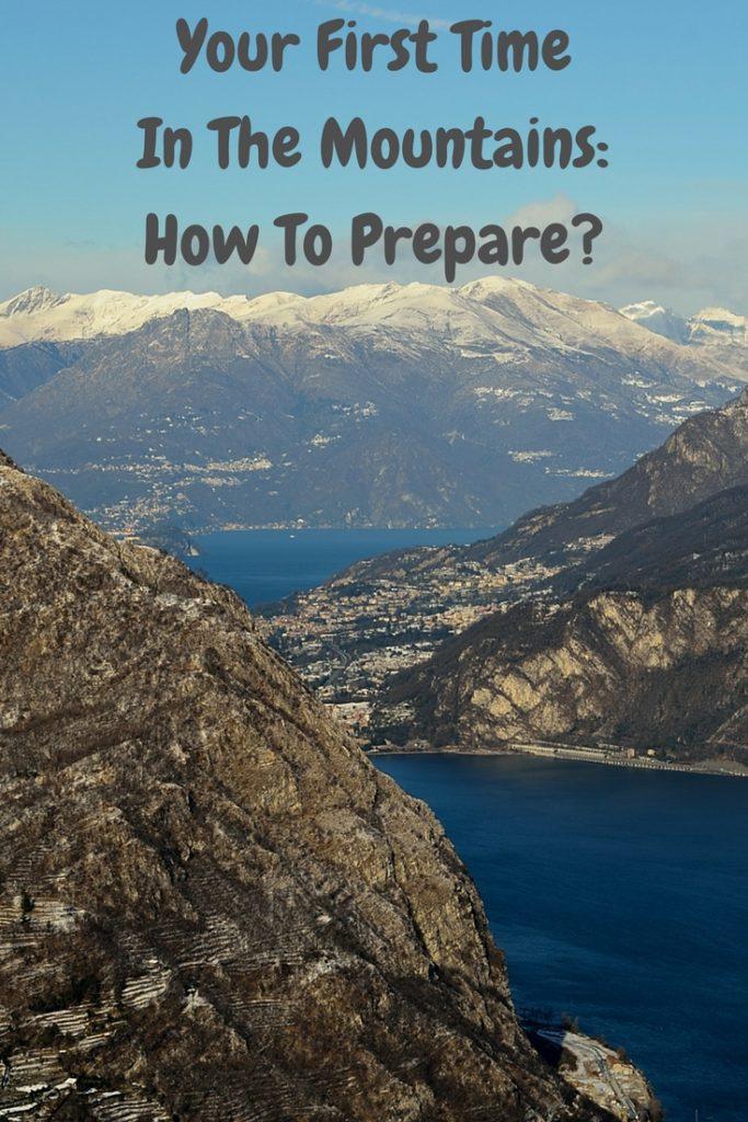 pierwszy raz w górach jak się przygotować