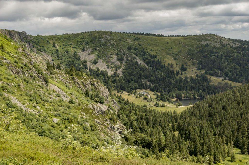 wycieczka górska w alzacji trzy jeziora