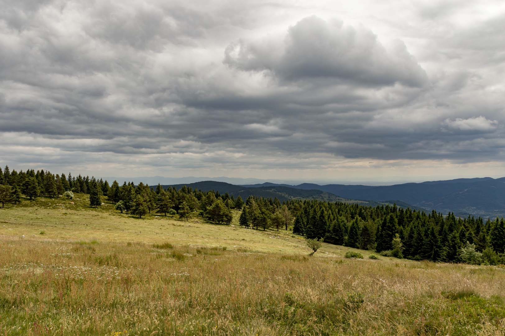 hiking in alsace three lakes in the vosges