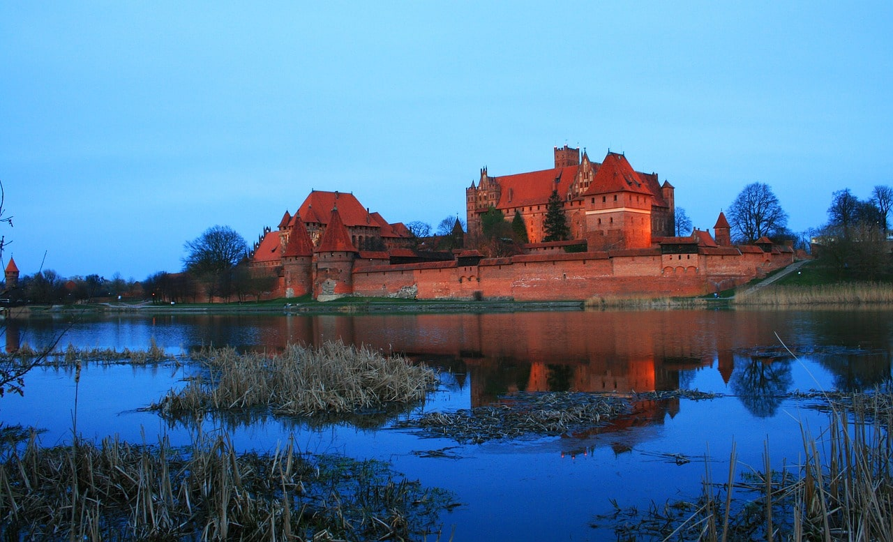 winter holidays in poland - malbork