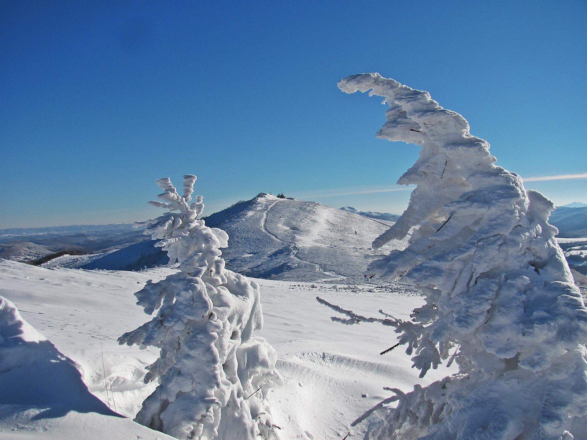winter holidays in poland - bieszczady