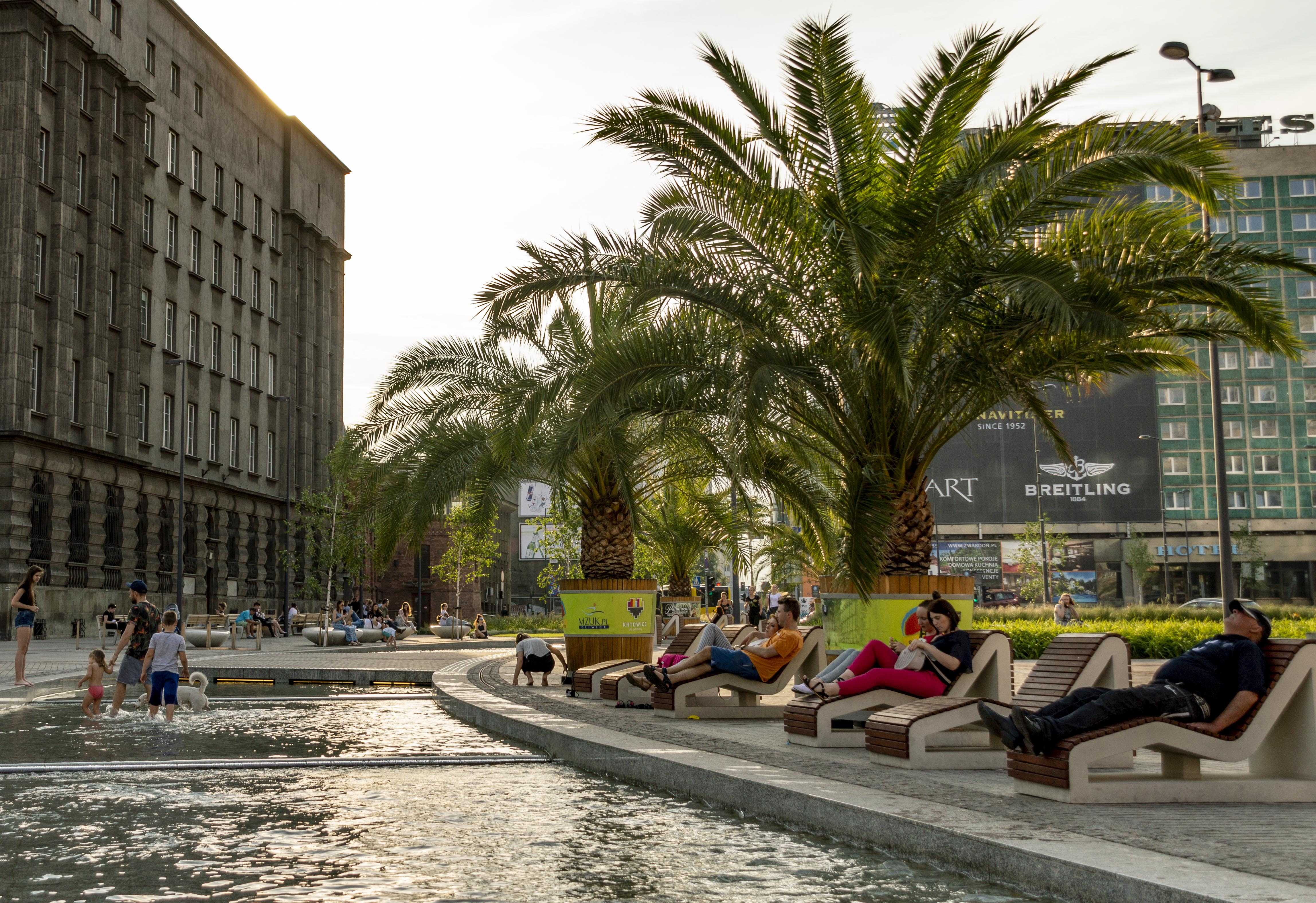 things to do in Katowice - main square