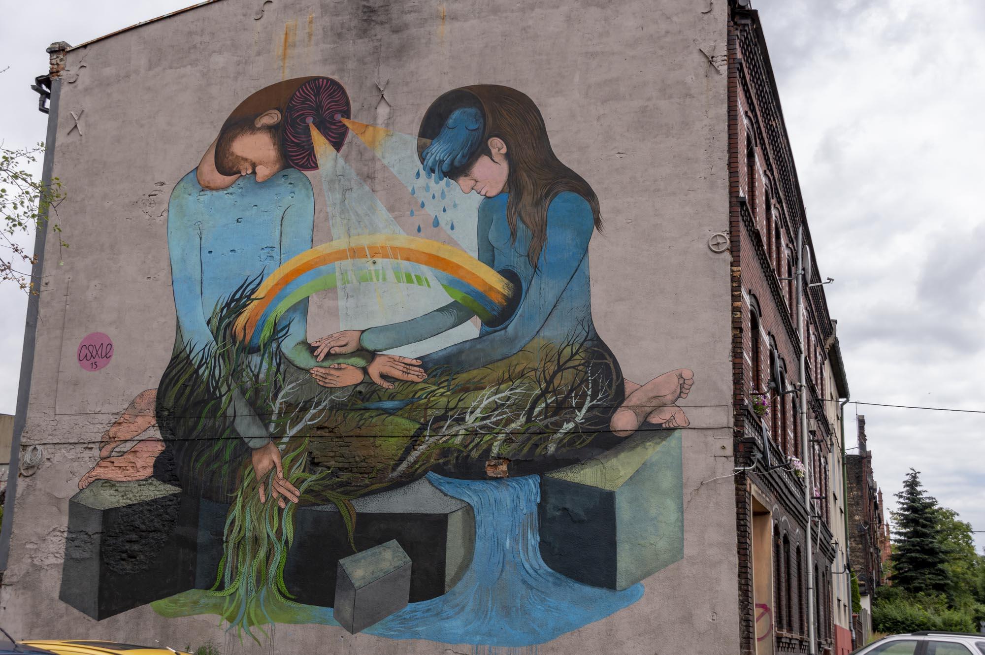 things to do in Katowice - street art