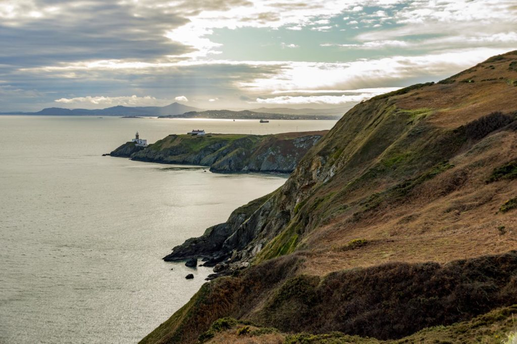 Dublin attraction - cliffs of Howth