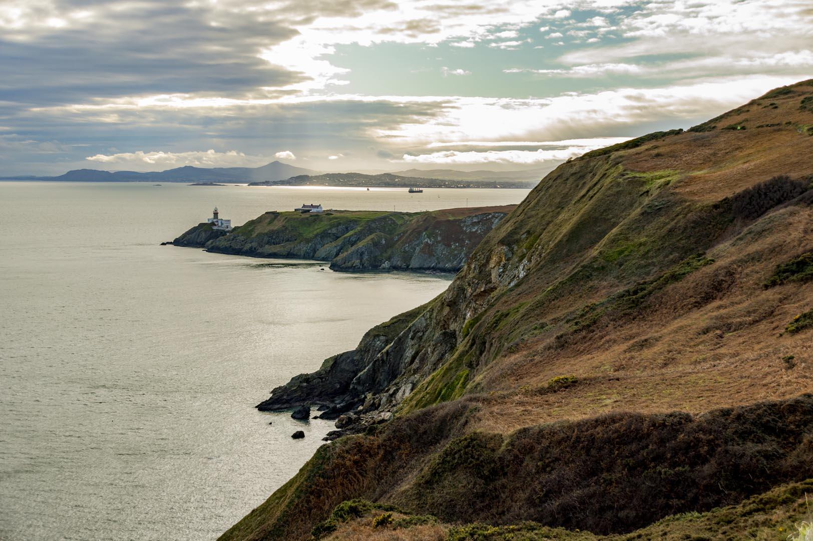 Dublin attraction - cliffs of Howth