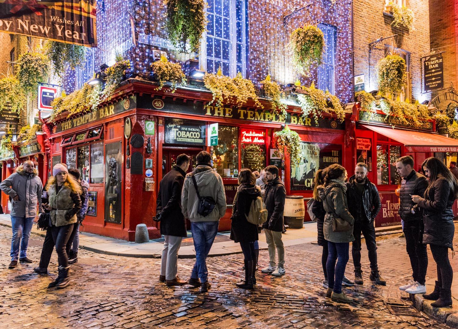 Dublin attractions - Temple Bar