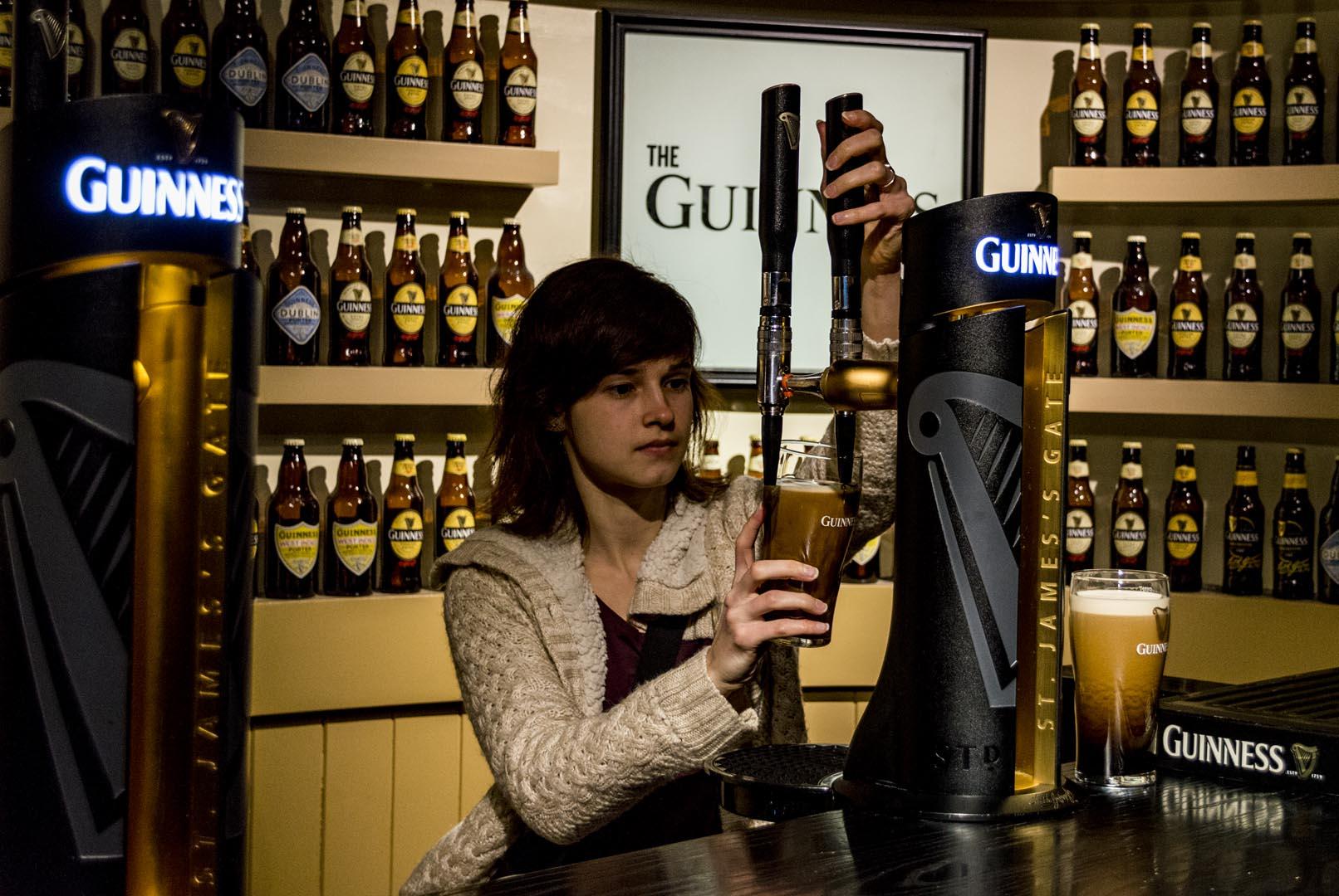 Dublin attractions - Guinness Storehouse