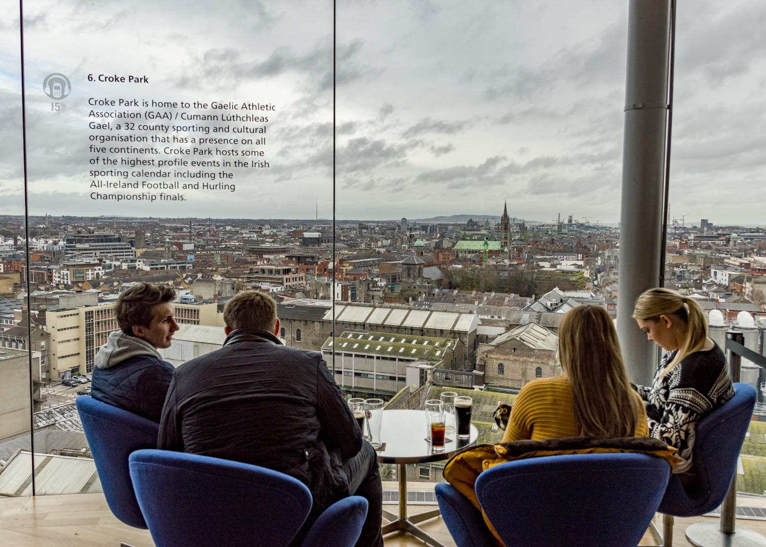 Dublin attractions - Guinness Storehouse