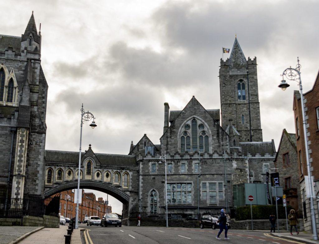 Dublin - katedra kościoła chrystusowego