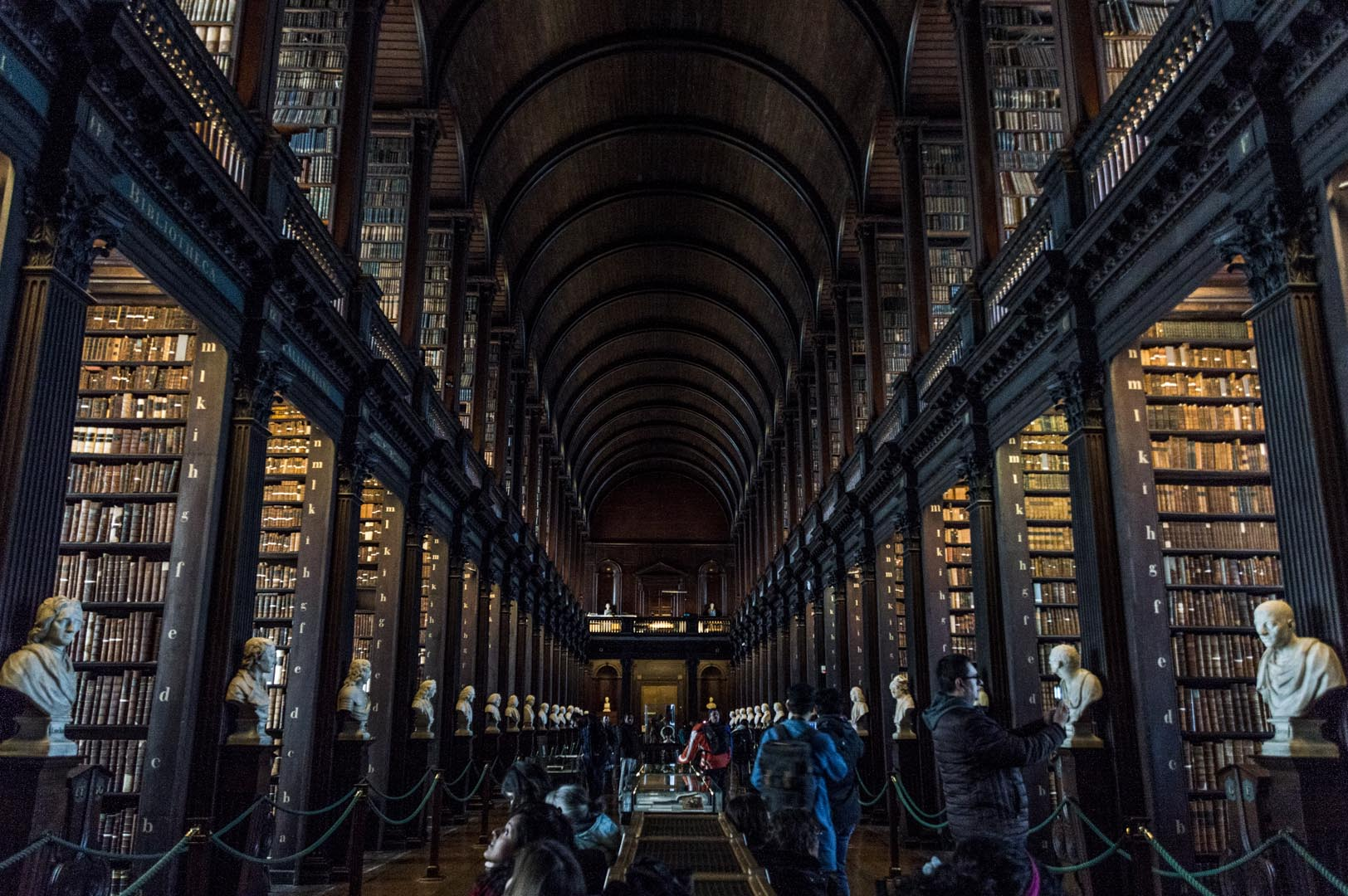 Dublin attractions - Trinity College Library