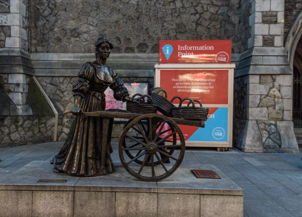 Dublin attractions - Molly Malone
