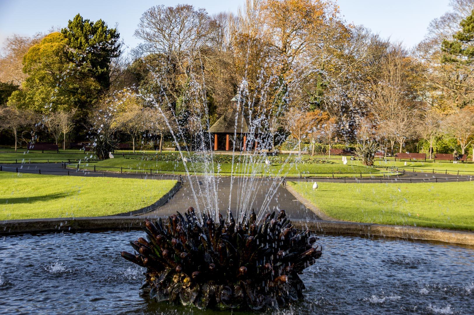 Dublin attraction - St Stephen's Green