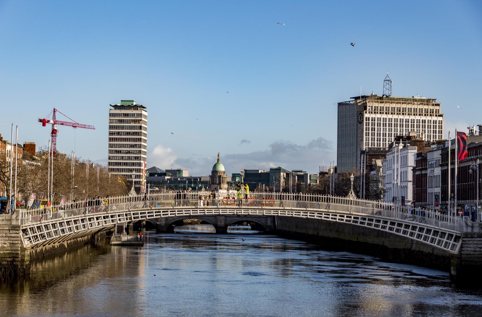Dublin attractions - Ha'Penny Bridge