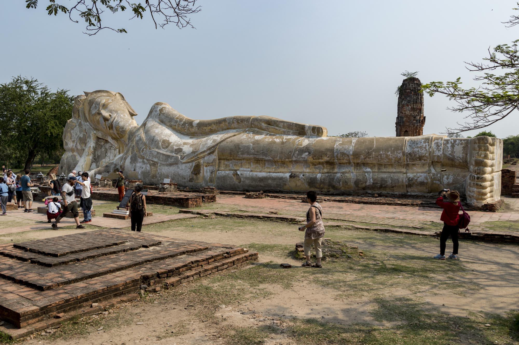 Ayutthaya Wat Lokkayasutharam