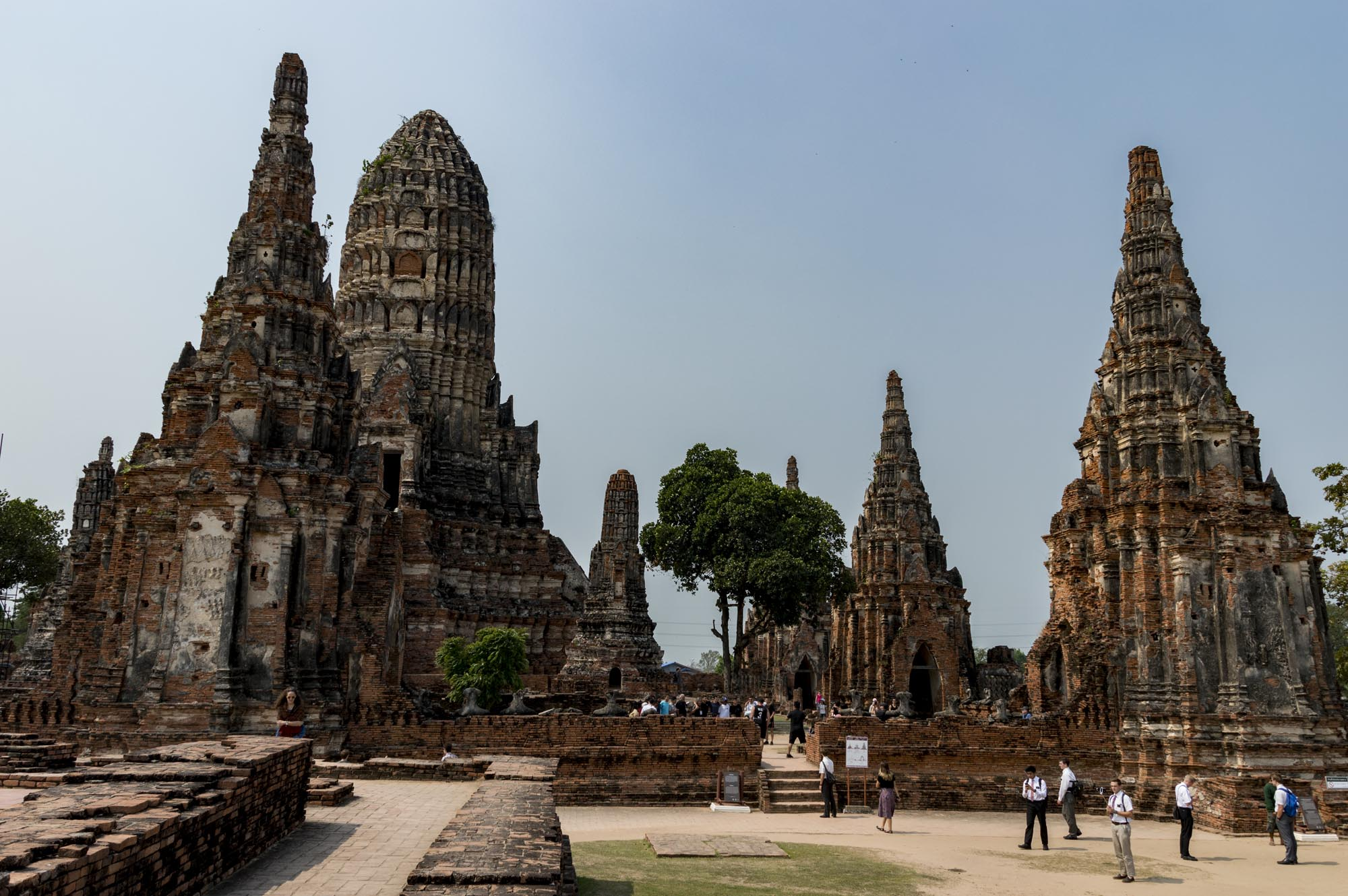 Ayutthaya temples: Wat Chai Wattanaram