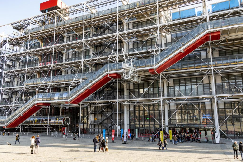 weekend w Paryżu: Pompidou