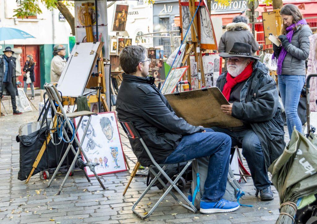 weekend w Paryżu: Montmartre