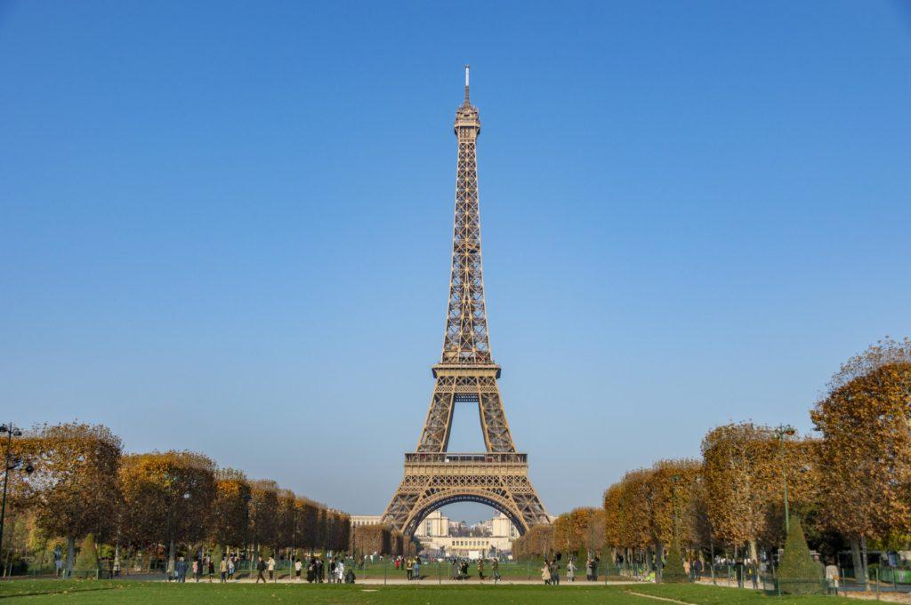 weekend w Paryżu: wieża Eiffla