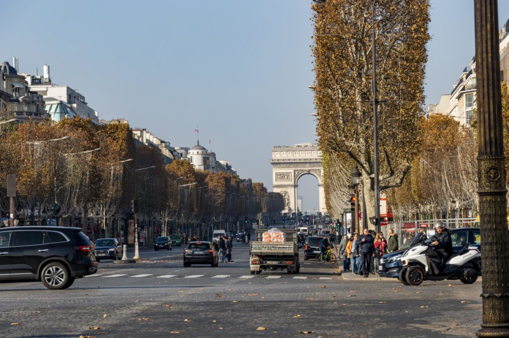 Weekend in Paris: Champs Elysees