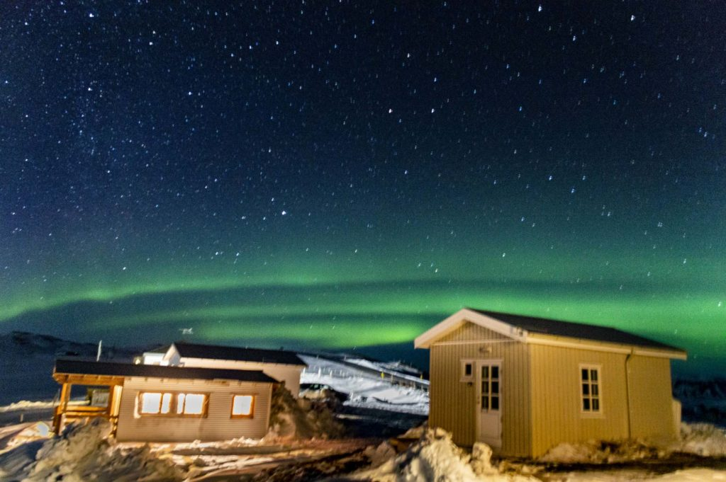 The best place to see northern lights in Iceland