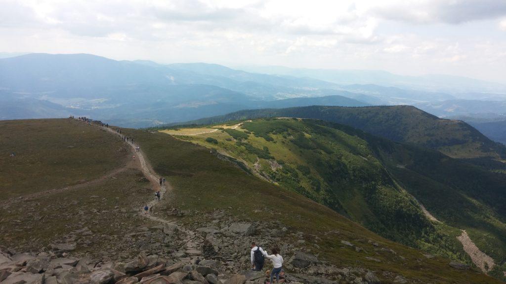 gdzie jechać w góry: Beskidy