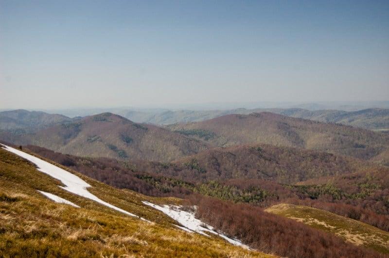 gdzie jechać w góry: Bieszczady