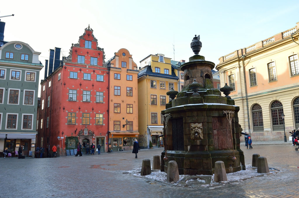 Things to do in Stockholm in winter: Gamla Stan