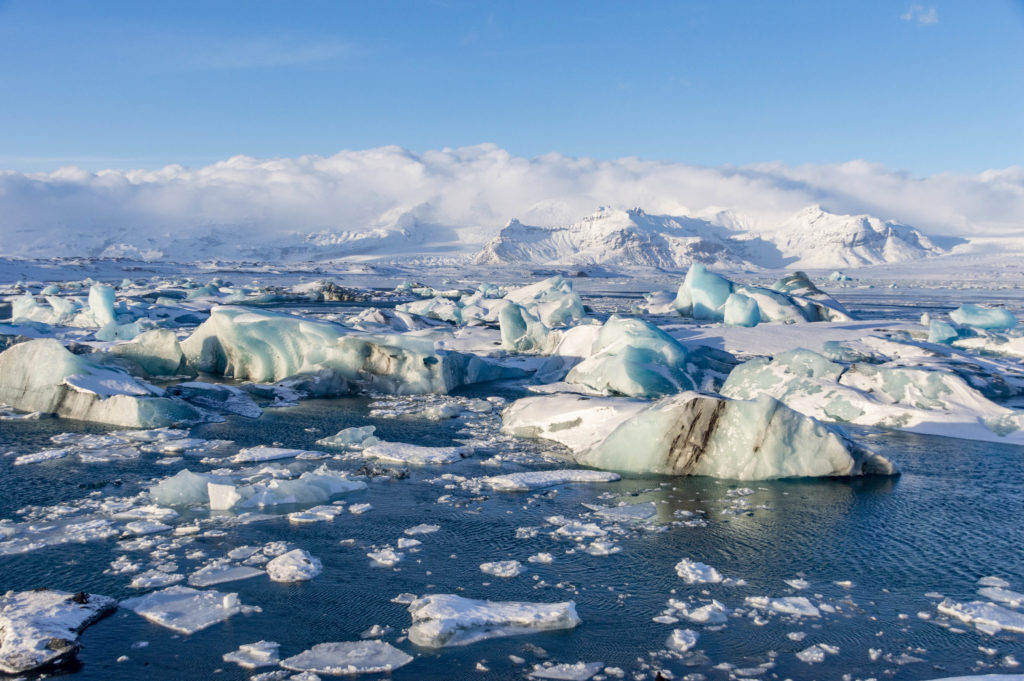 Iceland attractions: Jökulsárlón